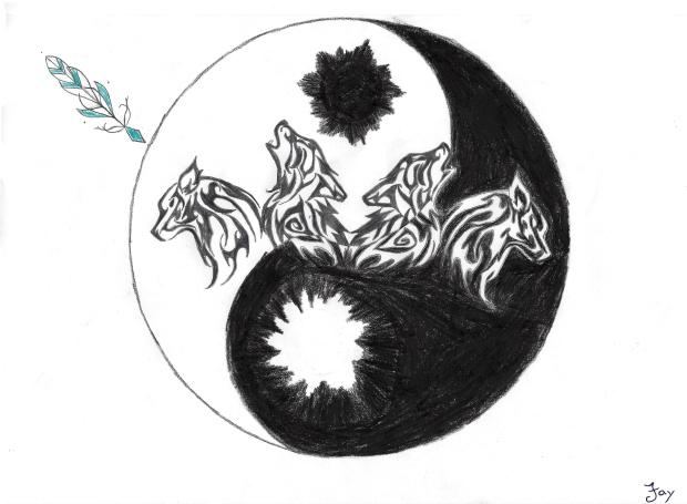 vier-woelfe-yin-yang