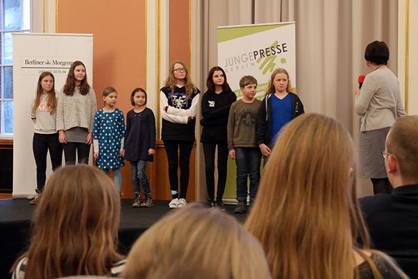 SchuleEins Blog ZeitungEins Preisverleihung 2018