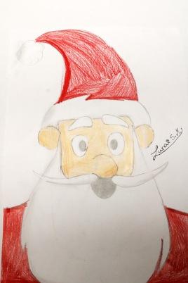 Papa Noel klein